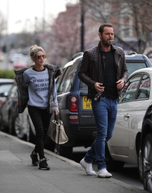 Danny Dyer seen for the first time back in essex.